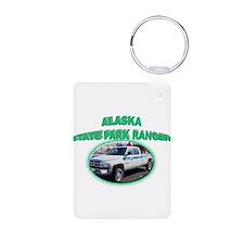 Alaska State Park Ranger Keychains