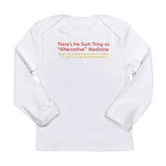 Skeptics8 Long Sleeve Infant T-Shirt