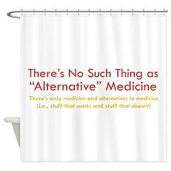 Skeptics8 Shower Curtain