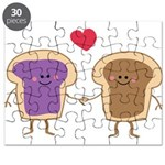 Peanut Butter Loves Jelly Puzzle