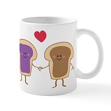 Peanut Butter Loves Jelly Mug