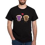 Peanut Butter Loves Jelly Dark T-Shirt