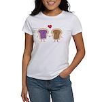 Peanut Butter Loves Jelly Women's T-Shirt