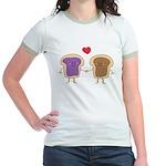 Peanut Butter Loves Jelly Jr. Ringer T-Shirt