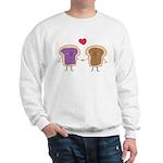 Peanut Butter Loves Jelly Sweatshirt