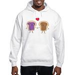 Peanut Butter Loves Jelly Hooded Sweatshirt