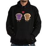 Peanut Butter Loves Jelly Hoodie (dark)