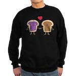 Peanut Butter Loves Jelly Sweatshirt (dark)