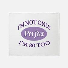 Cute Teenage Throw Blanket