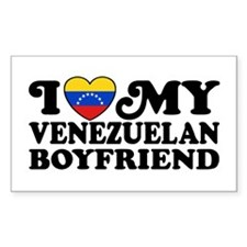 I Love My Venezuelan Boyfriend Decal