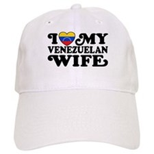 I Love My Venezuelan Wife Baseball Cap