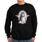 Malamute Angel Sweatshirt (dark)