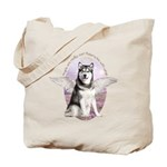 Malamute Angel Tote Bag