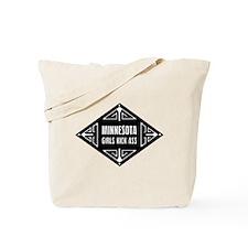 Minnesota Girls Kick Ass Tote Bag