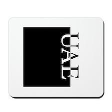 UAE Typography Mousepad