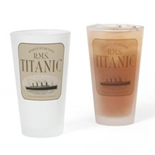 RMS TItanic Drinking Glass