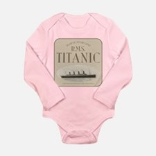 RMS TItanic Long Sleeve Infant Bodysuit