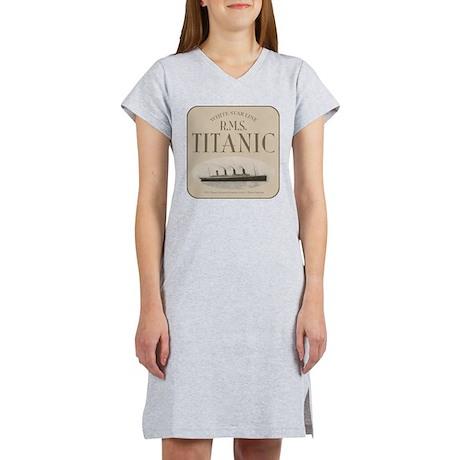 RMS TItanic Women's Nightshirt