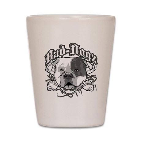 AMERICAN BULLDOG Shot Glass