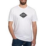 New Hampshire Girls Kick Ass Fitted T-Shirt