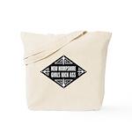 New Hampshire Girls Kick Ass Tote Bag