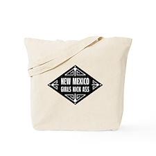 New Mexico Girls Kick Ass Tote Bag