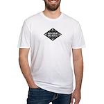 North Carolina Girls Kick Ass Fitted T-Shirt