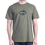 North Carolina Girls Kick Ass Dark T-Shirt