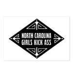 North Carolina Girls Kick Ass Postcards (Package o