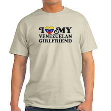 I Love My Venezuelan Girlfriend T-Shirt