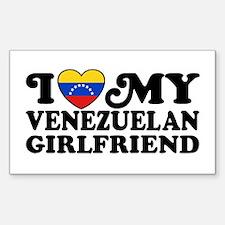 I Love My Venezuelan Girlfriend Decal