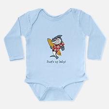 Surf's up baby! Long Sleeve Infant Bodysuit