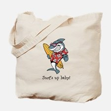 Surf's up baby! Tote Bag