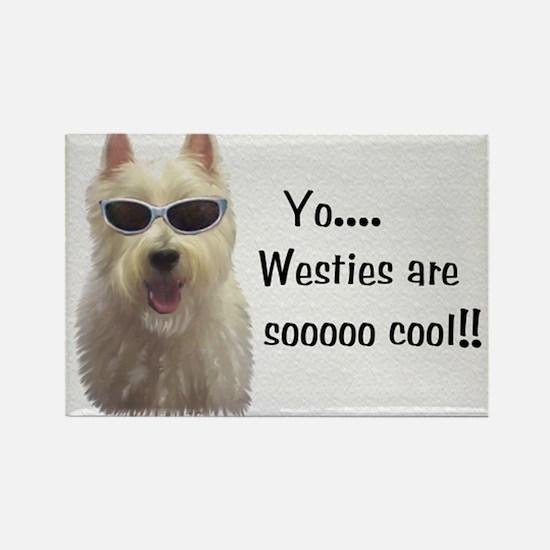 West Highland Terrier Rectangle Magnet