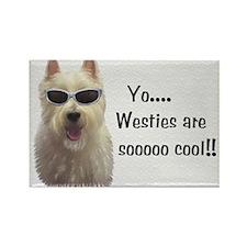 West Highland Terrier Rectangle Magnet (10 pack)