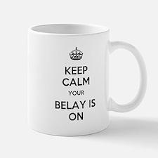 Keep Calm Belay is On Mug