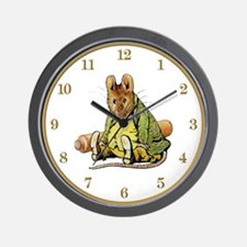 Samuel Whiskers Wall Clock
