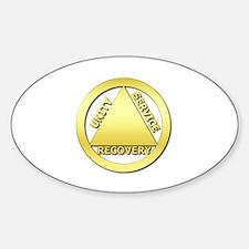 AA01 Sticker (Oval)