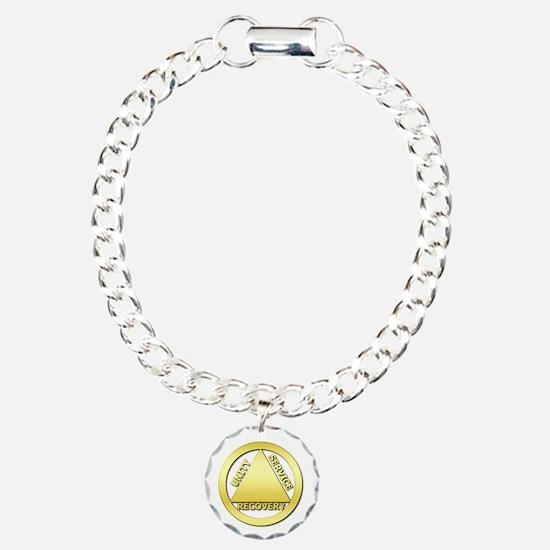 AA01 Charm Bracelet, One Charm