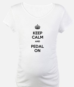 Keep Calm and Pedal On Shirt