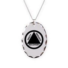 AA03 Necklace Oval Charm
