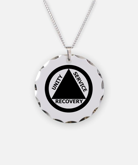 AA03 Necklace Circle Charm