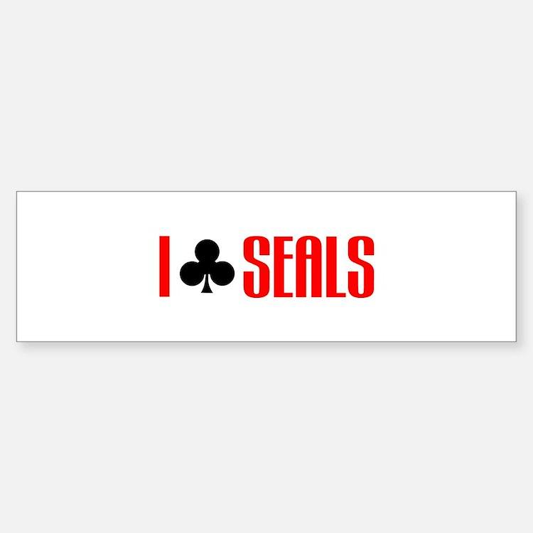 I club seals Bumper Bumper Bumper Sticker