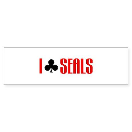 I club seals Bumper Sticker