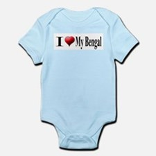 I Love My Bengal Infant Creeper