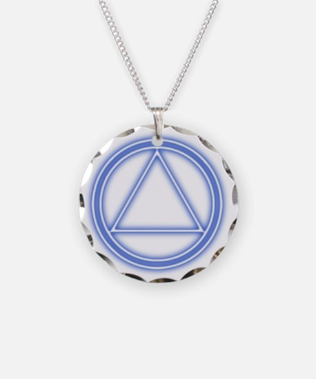 AA07 Necklace Circle Charm
