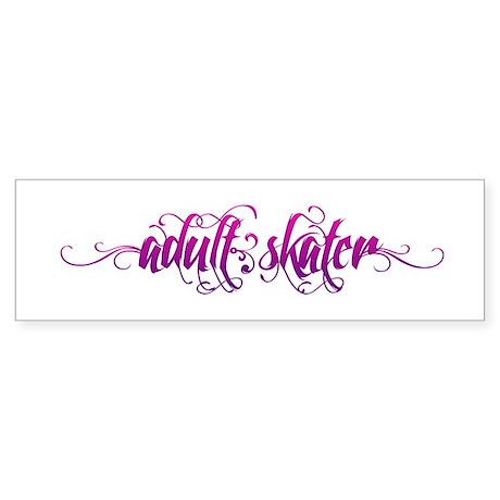 Adult Script Sticker (Bumper)