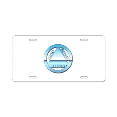 AA08 Aluminum License Plate