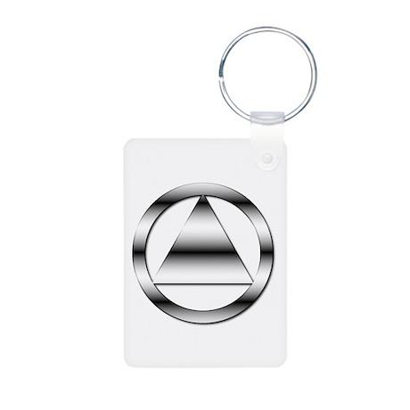 AA10 Aluminum Photo Keychain