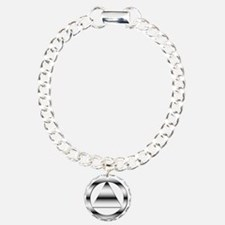 AA10 Charm Bracelet, One Charm
